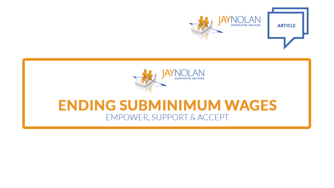 It's About TIME: Ending Subminimum Wages for Workers with Disabilities