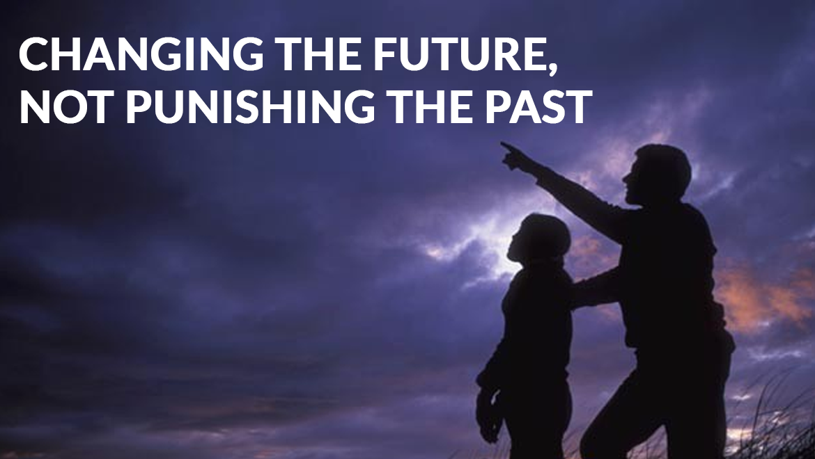 Changing the Future, Not Punishing the Past