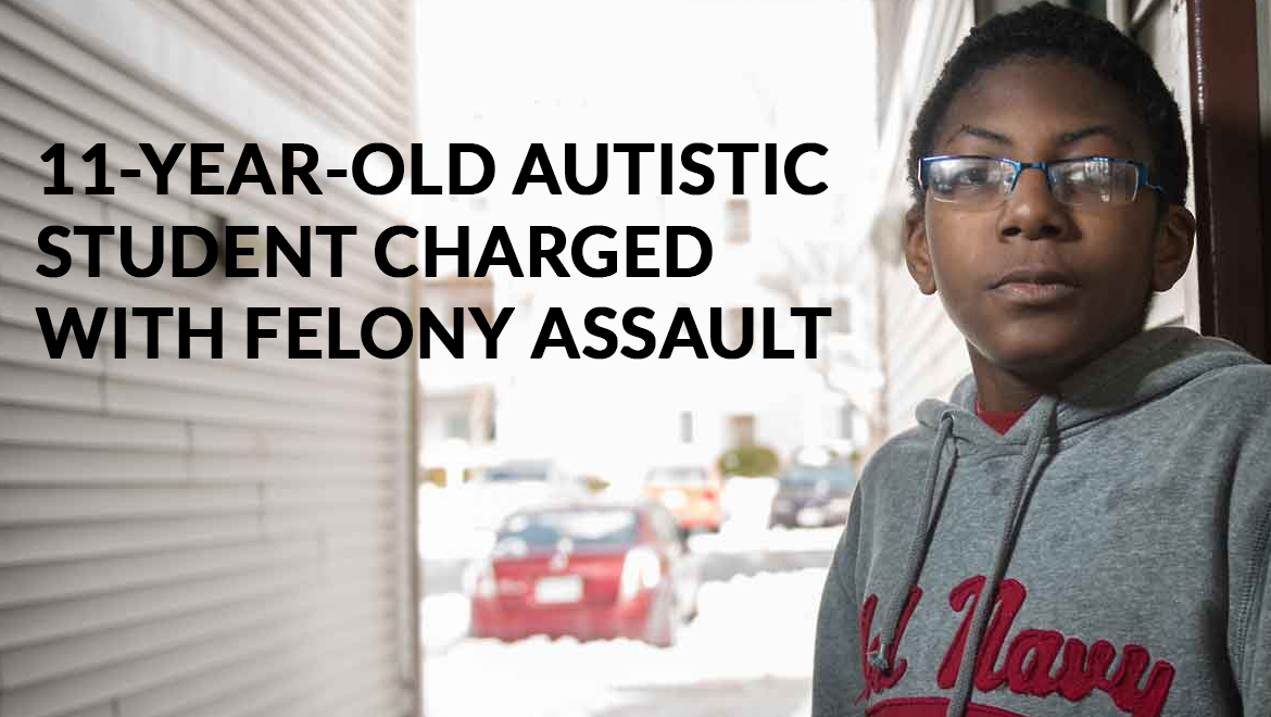 11-Year-Old Autistic Student Charged with Felony Assault