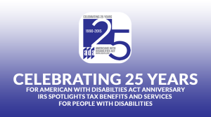 Americans With Disabilities Anniversary