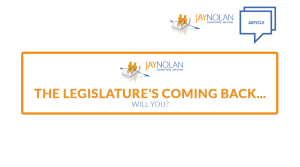 The Legislature's Coming Back