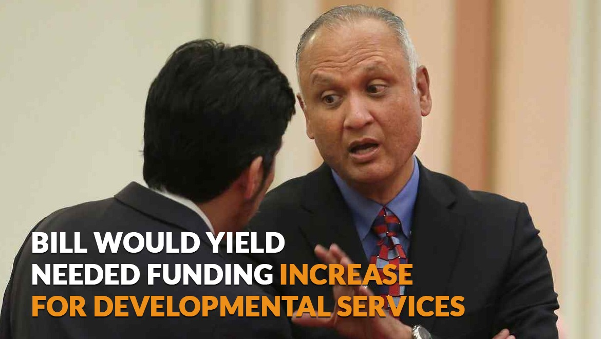 Bill would yield needed funding increase for developmental services