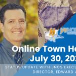 JNCS Online Town Hall – July 30, 2020